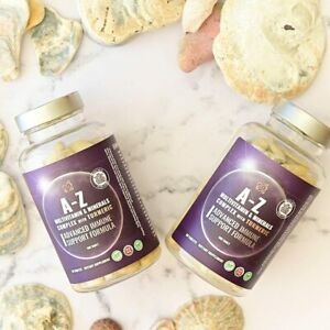 A-Z Multivitamins and Minerals Complex Vitamin Tablets for Women and Men
