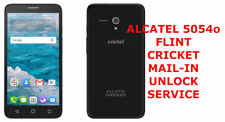 UNLOCK MAIL-IN SERVICE for Cricket Alcatel Flint 5054O 4G LTE Android Phone