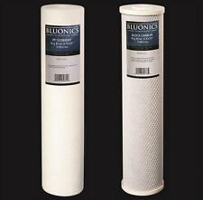 "Big Blue CTO Carbon Block & Sediment 4.5"" x 20"" Replacement Filter Cartridges"