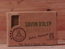 Savon d alep Olivenölseife mit Grüner Tee Naturseife 100g/stck  100g= 5,00€)