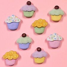 DRESS IT UP Buttons  Mini Sweet Treats 4821 - Embellishments - Cup Cakes