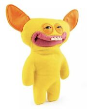 """YELLOW GRIN GRIN RARE FUGGLER Funny Ugly Monster NEW 9"""""""
