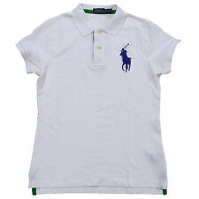 Ralph Lauren Womens Polo Big Pony Logo Classic Mesh Rugby Collar All Sizes Rl