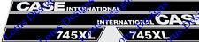 Case International 745XL Décalques/Autocollants