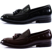 New Mooda Modern Formal Tassel Loafers Slips on Leather Men Dress Shoes