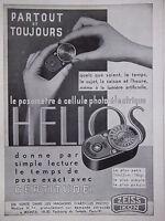 PUBLICITÉ 1935 ZEISS IKON POSOMÈTRE A CELLULE PHOTO-ÉLECTRIQUE - ADVERTISING