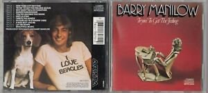 Barry Manilow - Tryin to Get the Feeling CD EARLY JAPAN PRESS ARISTA ARCD 8070