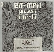 BIT-MAX - Dig-It (Remix) - 1990 Beat Club Records Italy - BCR RX 200990