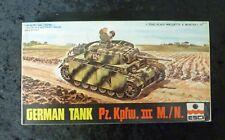 Esci German Tank Pz. Kpfw. III M./N. 1/72 Scale Model Kit