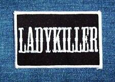 Spruch: Aufbügler Aufnäher:Ladykiller,Biker Triker,Jacke Rocker Punk Patch Kutte