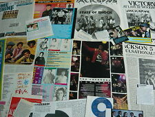 MICHAEL JACKSON/JACKSON 5 - MAGAZINE CUTTINGS COLLECTION (REF AA3)