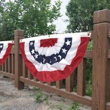 American Garden Flagpole Usa Fan Flag Patriotic Stars Flag Outdoor Decor