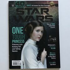 40 Years Of Star Wars Beckett Magazine Princess Leia Cover 96 Pages