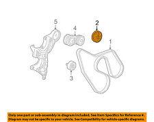 GM OEM-Serpentine Drive Belt Idler Pulley 12580772