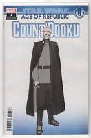 Star Wars Age of Republic count Dooku #1 Variant Marvel Comics (1st Print 2019)