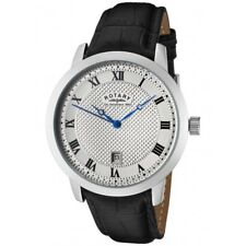 BRAND NEW Gent's Rotary Quartz Analogue Leather Strap Watch GS42825/01 RRP: £89