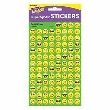 800 Emoji Cheer superSpots Reward Stickers for Parents and Teachers