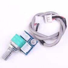 Double Plug Wire + Volume Control Potentiometer Board For DIY Amplifier Board