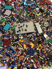 4 Pound Bulk Lot Of Lego Compatible Parts And Pieces By Mega Blok, Tyco, ETC.