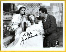 "A-JANE ""PONI"" ADAMS Autographed Photo from HOUSE OF DRACULA w/ COA"