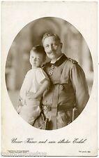 COLLECTION P. LAFOND. WW1. GUILLAUME II.UNSER KAISER UND SEIN ÄLTESTER ENKEL