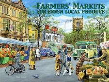 Farmers Markets Country Village Bus Classic/Vintage Medium Metal/Tin Sign