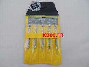 Bergeon 30080-P05 assortment of 5 screwdrivers watchmakers SWISS MADE