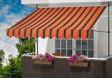 Klemmmarkise orange/braun, Breite: 250 cm 61182641 Markise Sonnenschutz