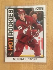 MICHAEL STONE HOT ROOKIES CARD,12-13 score #512