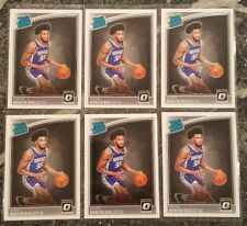 (6) MARVIN BAGLEY 2018-19 Optic Base RC Lot