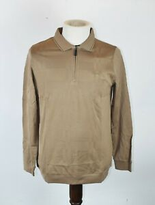 Brioni polo t-shirt long sleeve sweater pullover for Men size L