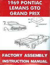 1969 69 GTO/TEMPEST/LEMANS/GRAND PRIX  ASSEMBLY MANUAL