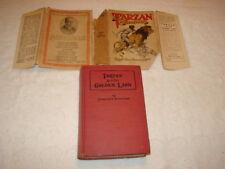 Tarzan and The Golden Lion - Edgar Rice Burroughs Grosset HCDJ 1923