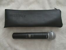 Shure SLX2 SM58 H5 518-542Mhz Wireless Handheld Microphone Transmitter