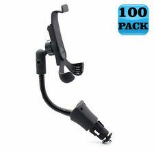 LOT of 100 - CAR MOUNT SOCKET HOLDER USB PORT CHARGER CRADLE DOCK for SMARTPHONE