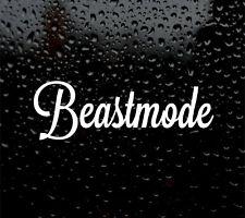 Beastmode Auto/Furgone/Paraurti BEST LIFE STICKER CAMPER Surf DUB Insta Beast Mode