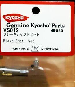 Kyosho VS012 RC 1/10 Model On Road Touring Car Brake Shaft Set (For FW05R)