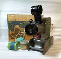 Projector Vintage Soviet USSR FILMOSKOP Film Movie Antique Projector Filmstrips