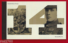 2014 THE GREAT WAR - PRESTIGE STAMP BOOK - PSB DY11