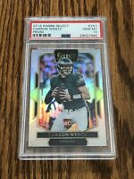 2016 Select Carson Wentz Field Level Prizm Silver PSA 10 Gem Mint RC Rookie #243