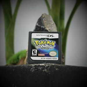 Pokemon Diamond Version (Nintendo DS, 2007) GAME ONLY, TESTED!! WORKING DS LITE