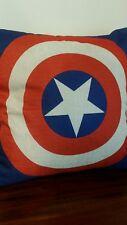 CAPTAIN AMERICA Superhero toss throw pillow cushion home decor