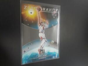 Zach Lavine 2020-21 Clearly Donruss Zero Gravity Insert #6 Chicago Bulls H24