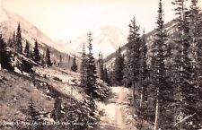 Grizzly Gulch Colorado CO Torreys Peak 14,264 Ft Sanborn Real Photo RP Postcard
