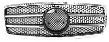 Mercedes Benz W140 Chrome & Black 1992-1999 S600 S500 S430 S320 Front Grille