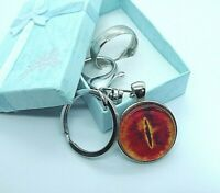 LORD OF THE RINGS THE ONE RING KEY RING EYE OF SAURON  COMES WITH GIFT BOX
