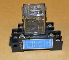FUJI HH62P-F DC12V RELAY 12V-DC - 240VAC 10A / 30VDC 8AMP with Base