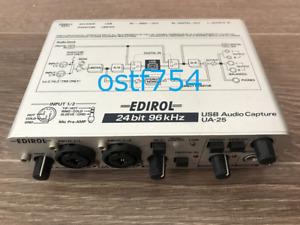 Roland Edirol / CakeWalk UA-25 USB Audio Capture MIDI Interface 24Bit / 96kHz