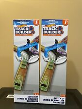 2 Hot Wheels Track Builder System Switch It Vehicle Diverter Kids Toy Gift NEW