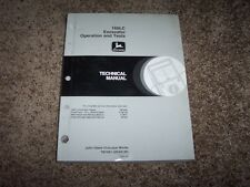 John Deere 160LC Excavator Operation & Test Shop Repair Technical Manual TM1661